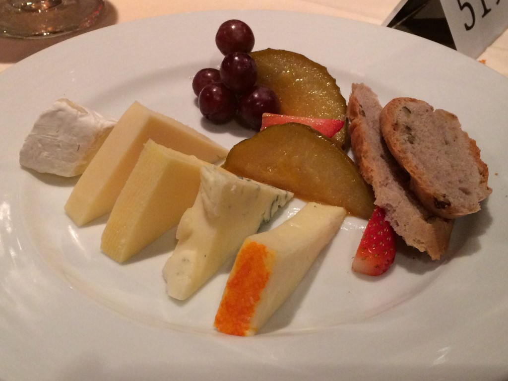 Carnival Cruise Line Dream Cheese Board