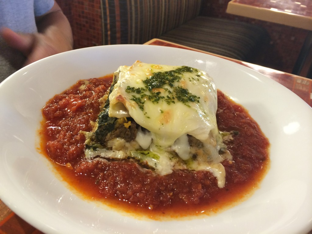 carnival cruise line dream lasagna pasta bella