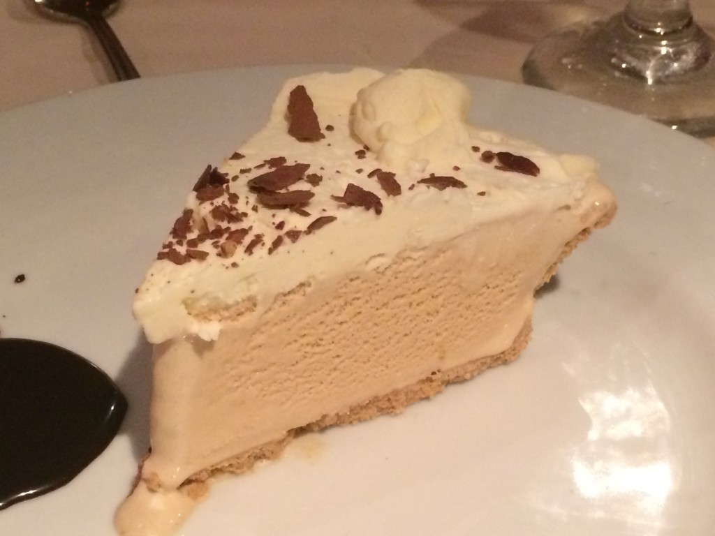 carnival dream cruise ship Cappuccino Ice Cream Pie