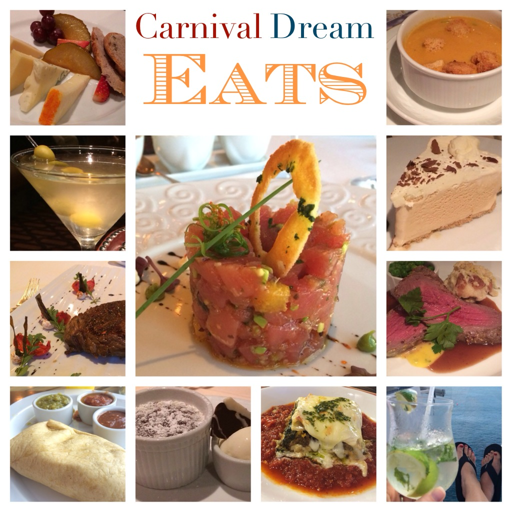 carnival dream cruise ship eats
