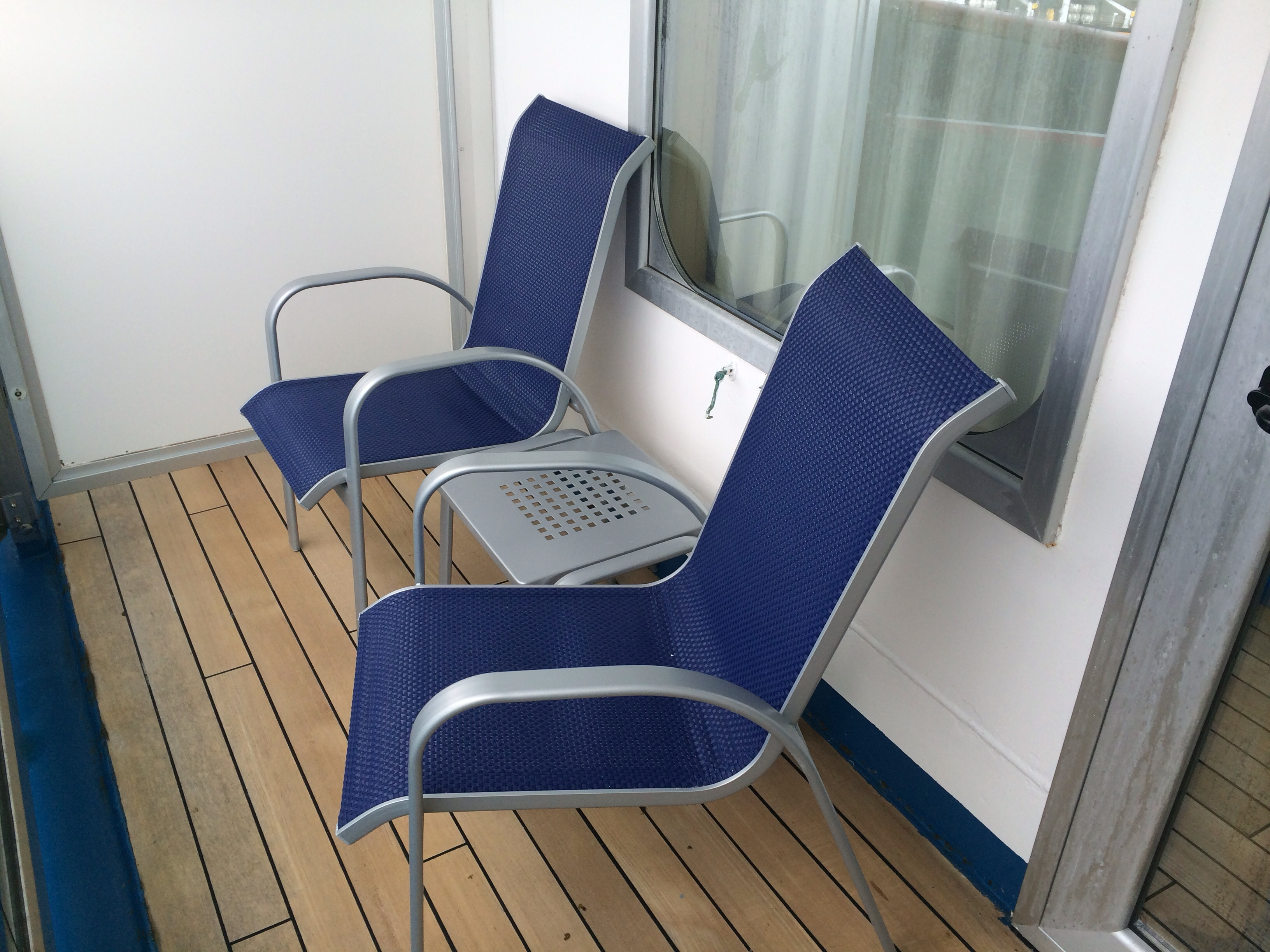 Pictures of our balcony stateroom 8152 on the all new for Cruise balcony