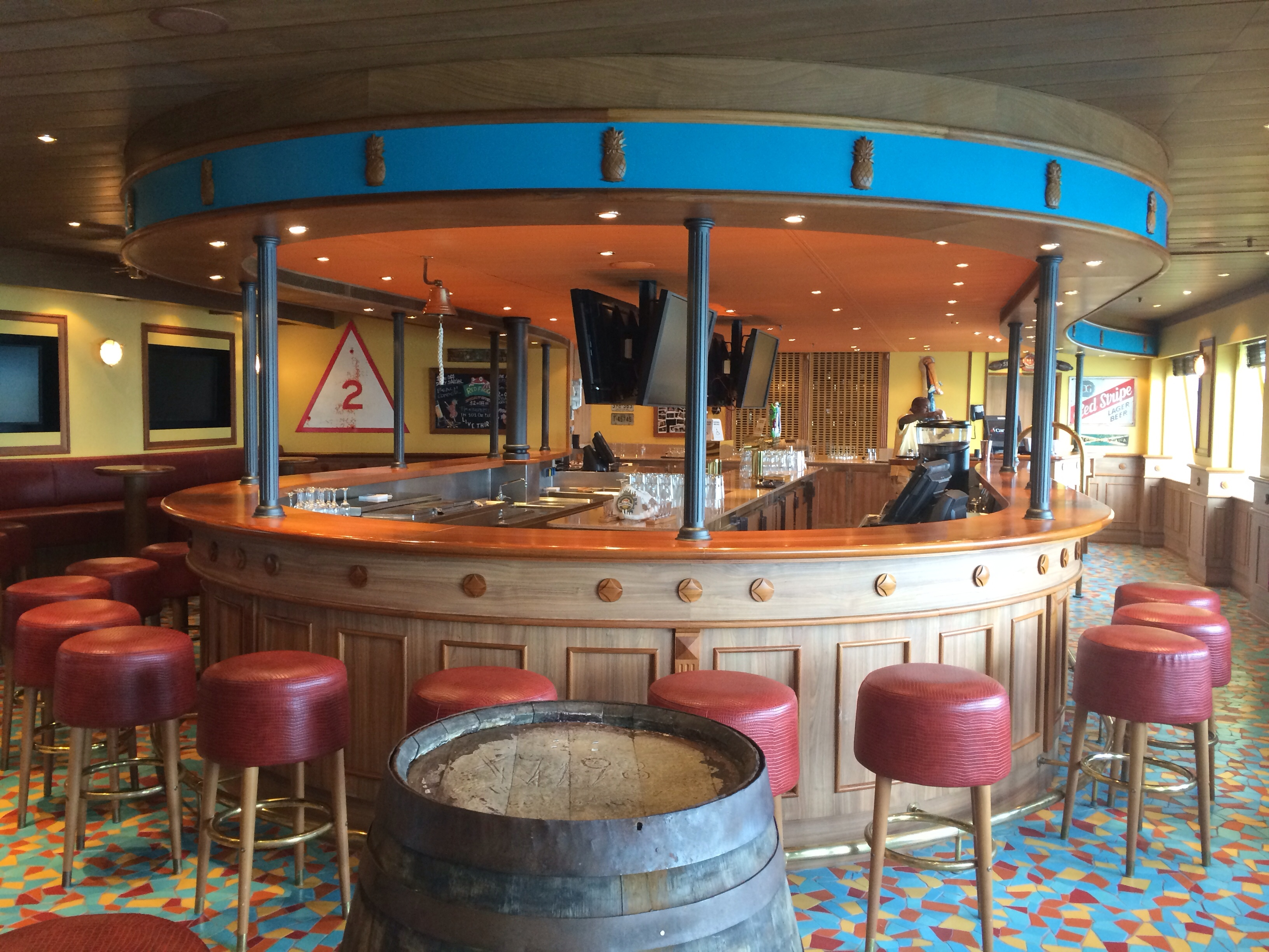 Photo Tour Of The Red Frog Pub On The Carnival Sunshine