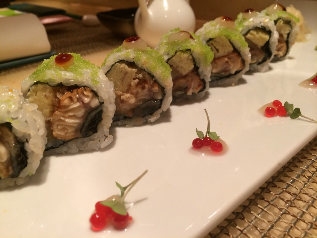 bonsai sushi restaurant carnival cruise sunshine triple e roll