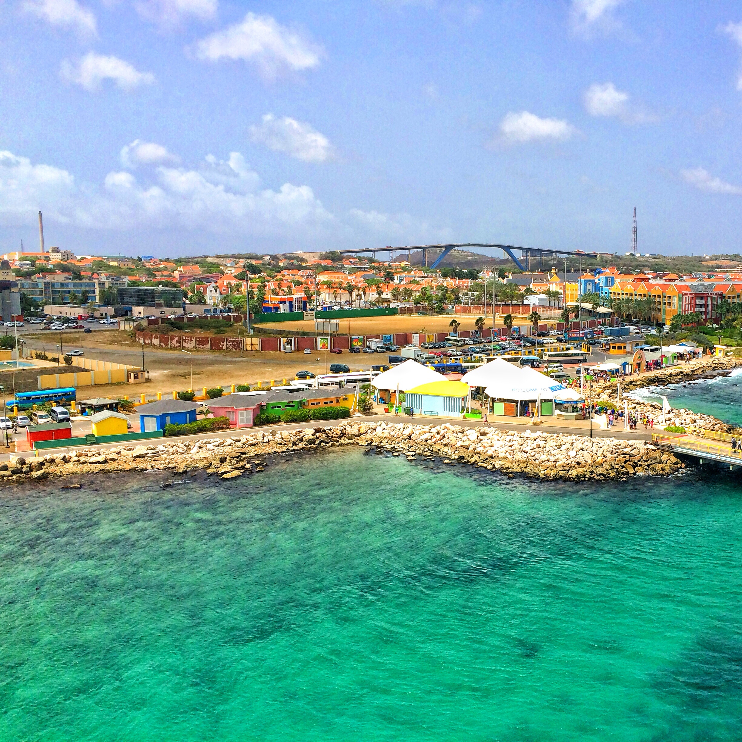Curacao Viewed from the Carnival Freedom