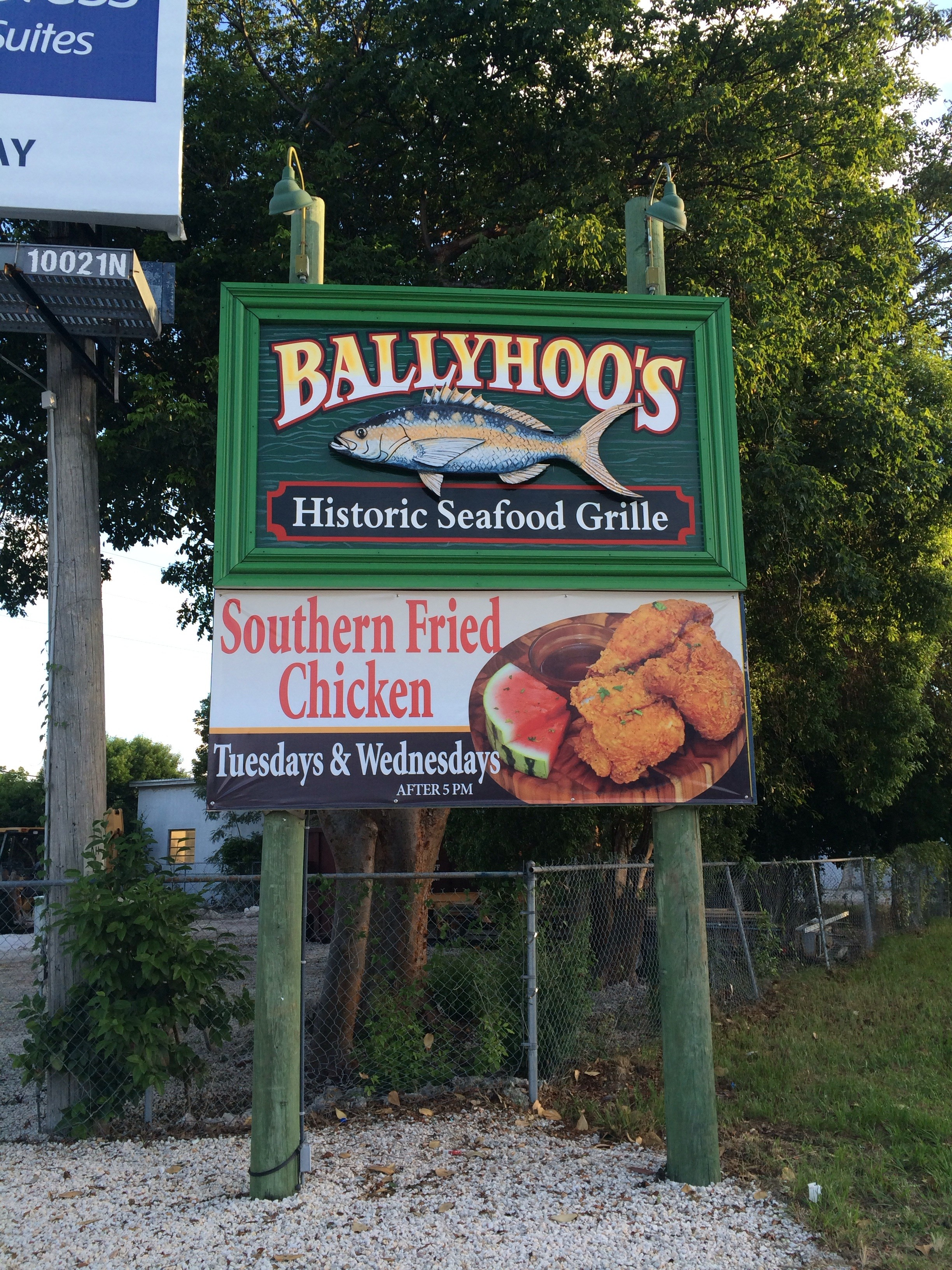 Ballyhoo S Historic Seafood Grille Key Largo Florida