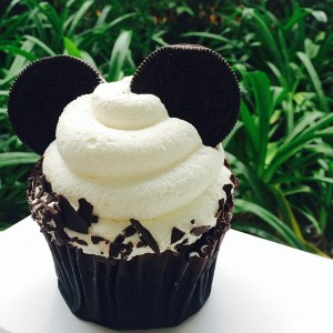 Mickey Mouse Chocolate Cupcake