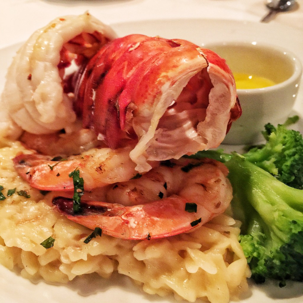 Carnival Cruise Line American Table Menu - Lobster Tail