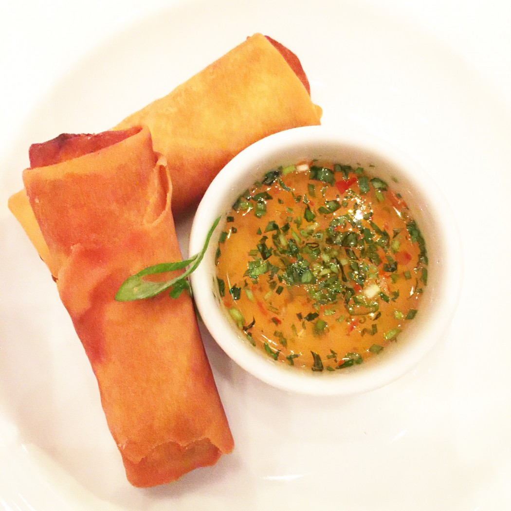 Carnival Cruise Line American Table Menu - Spring Rolls