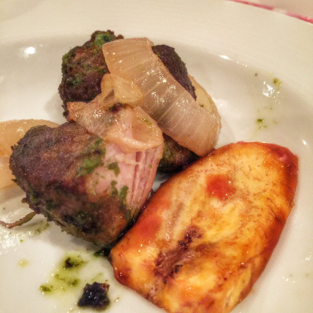 Carnival Cruise Line American Table Menu - Puerto Rico Pork Chunks