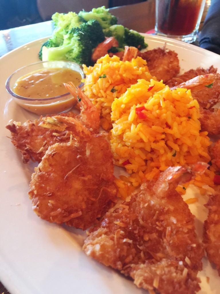 Bahama Breeze Viva la Rita - Coconut Shrimp