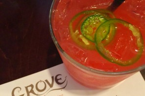 Grove - The Top Rated Restaurant in the State of Michigan - Strawberry Jalapeno-rita