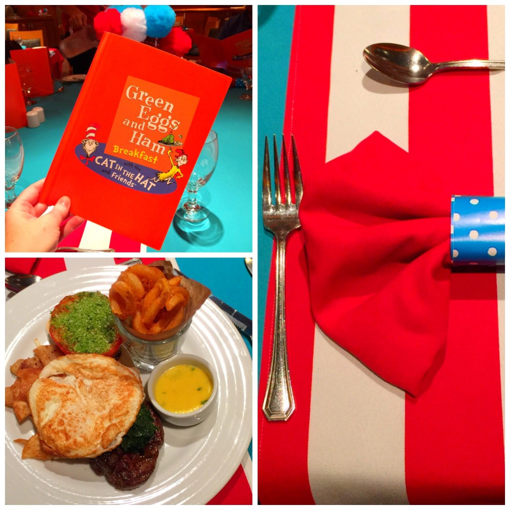 Carnival Cruise Lines Dr Seuss Brunch on the Carnival Paradise
