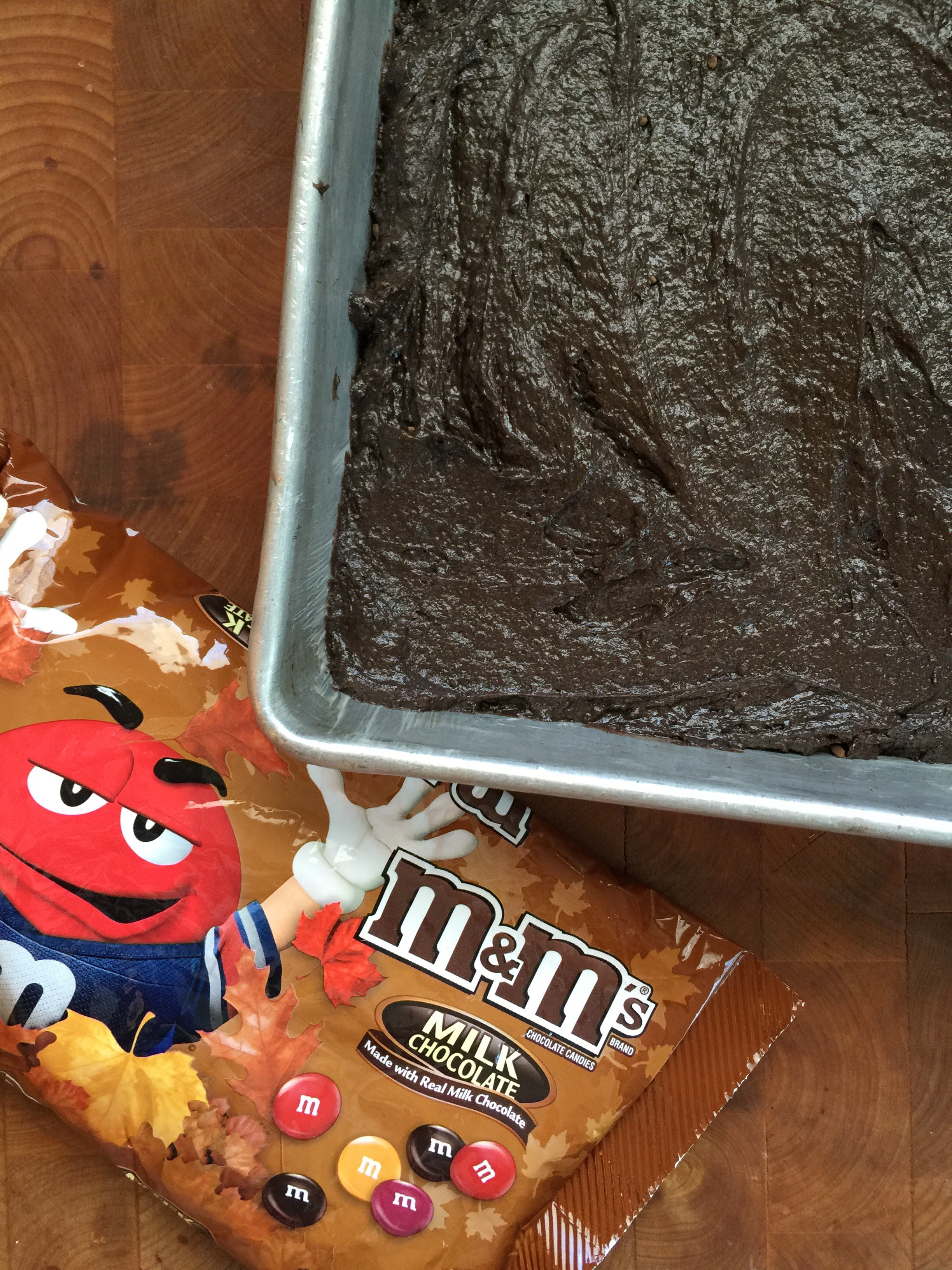 Once your brownies come out of the oven, remove them from your baking ...