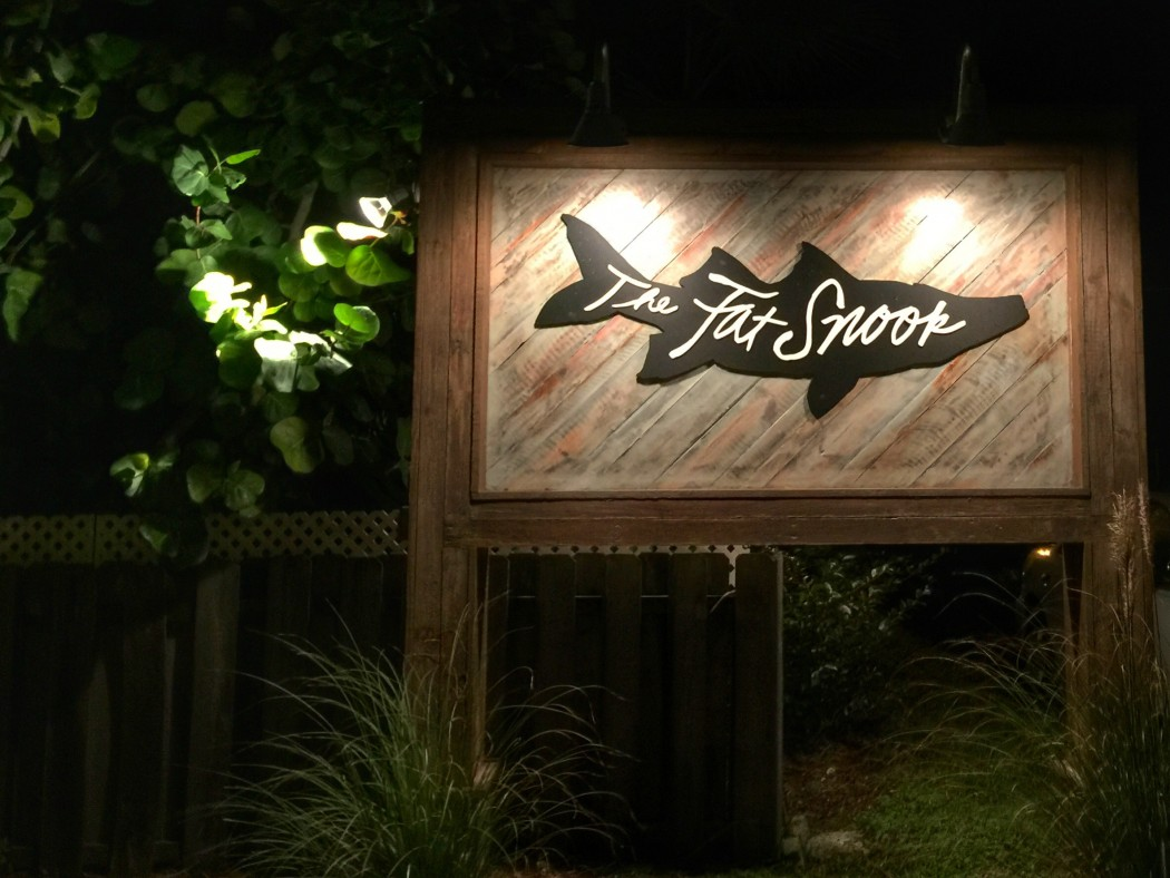 Dinner at The Fat Snook on Florida's Space Coast
