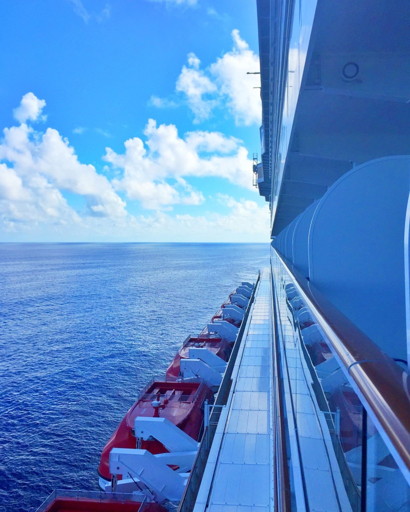 Norwegian Escape at Sea
