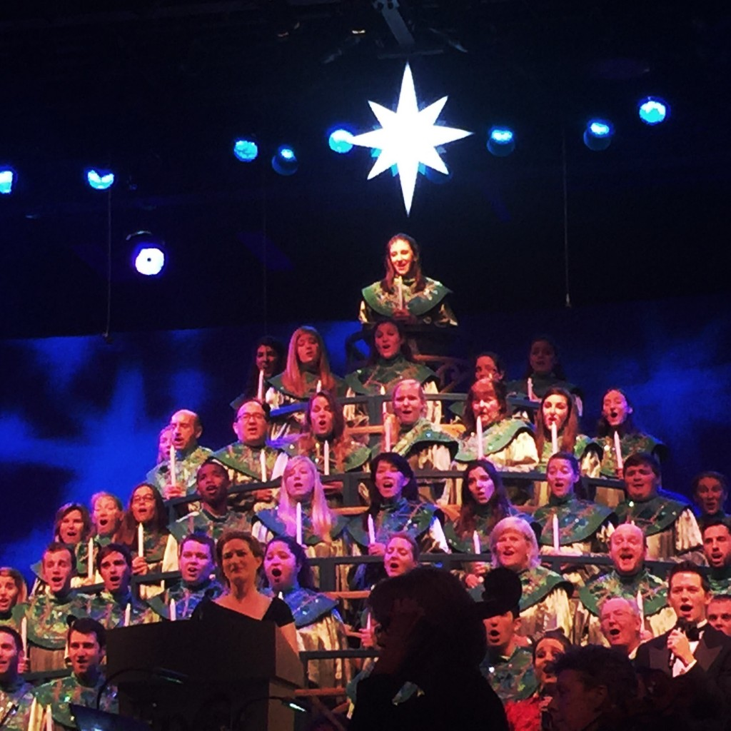 Epcot's Annual Candlelight Processional Was Better Than Ever