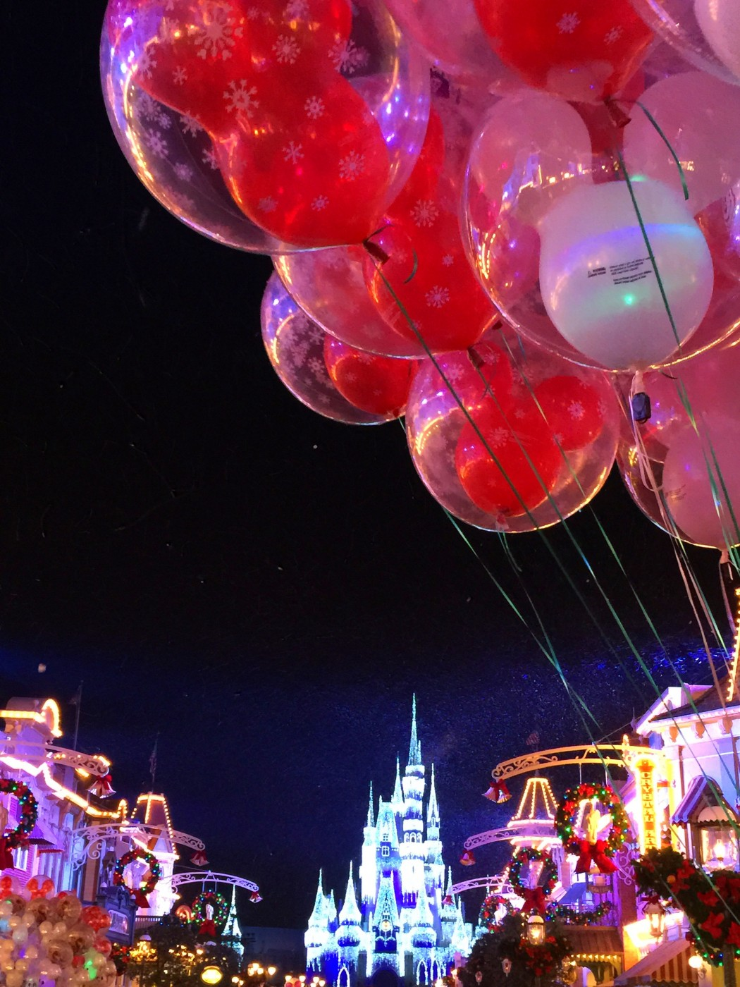 Mickey's very Merry Christmas Party in the Magic Kingdom at Walt Disney World