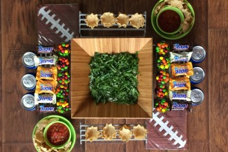 Game Day Snack Stadium for Two