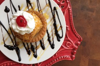 Non Fried Mexican Fried Ice Cream