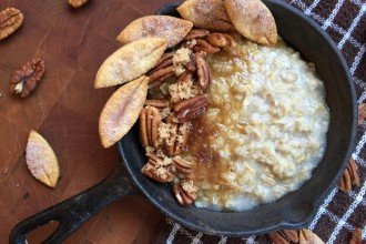 Old Fashioned Brown Sugar Pecan Pie Oatmeal