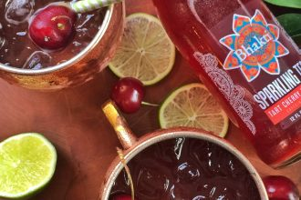 Tart Cherry Rooibos Moscow Mule