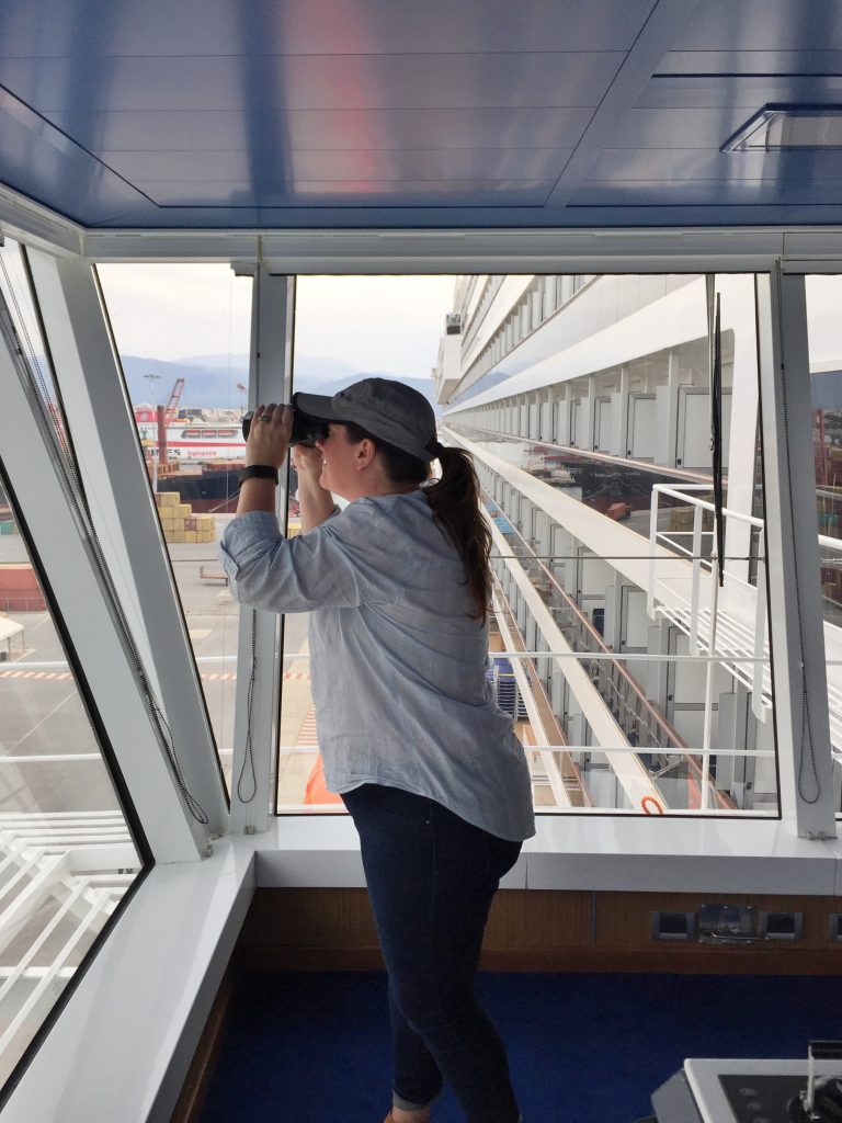 Carnival Vista Bridge Tour
