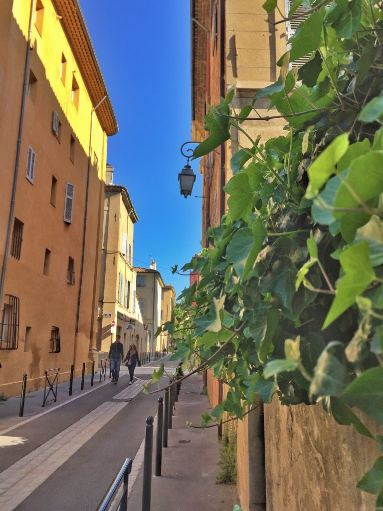 Wandering the Streets of Aix en Provence, France