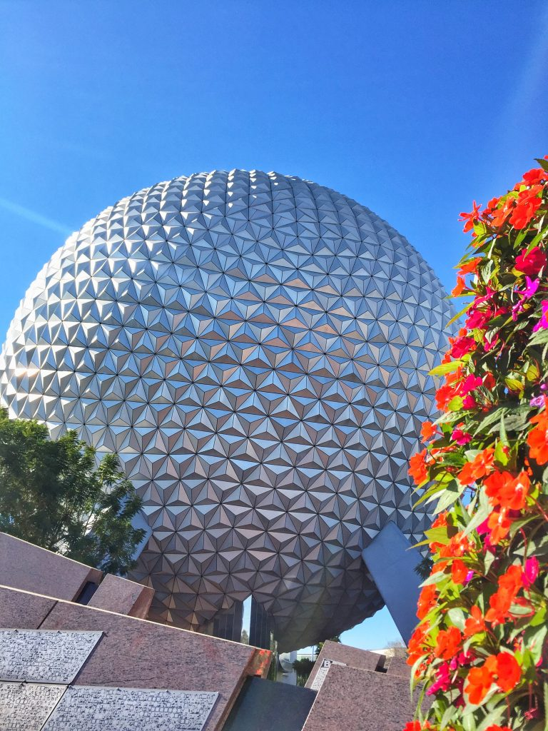 Disney's Epcot International Flower and Garden Festival Spaceship Earth