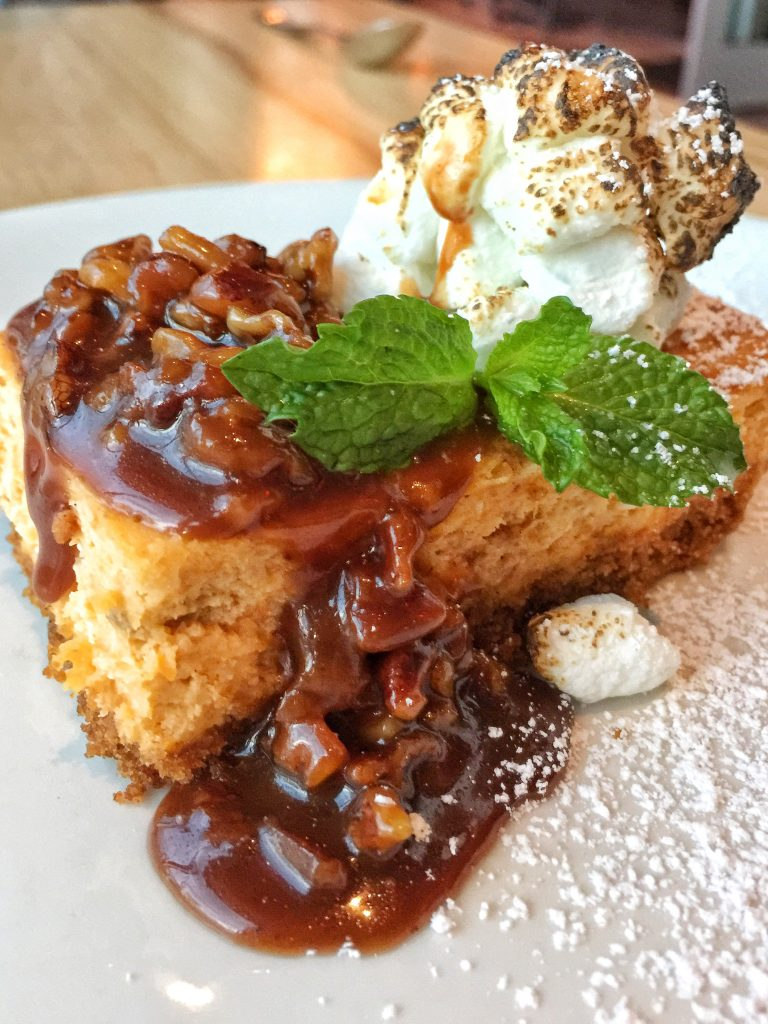 Orlando's Canvas Restaurant in Lake Nona - Sweet Potato Cheesecake