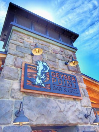Geyser Point Bar & Grill at Disney's Wilderness Lodge