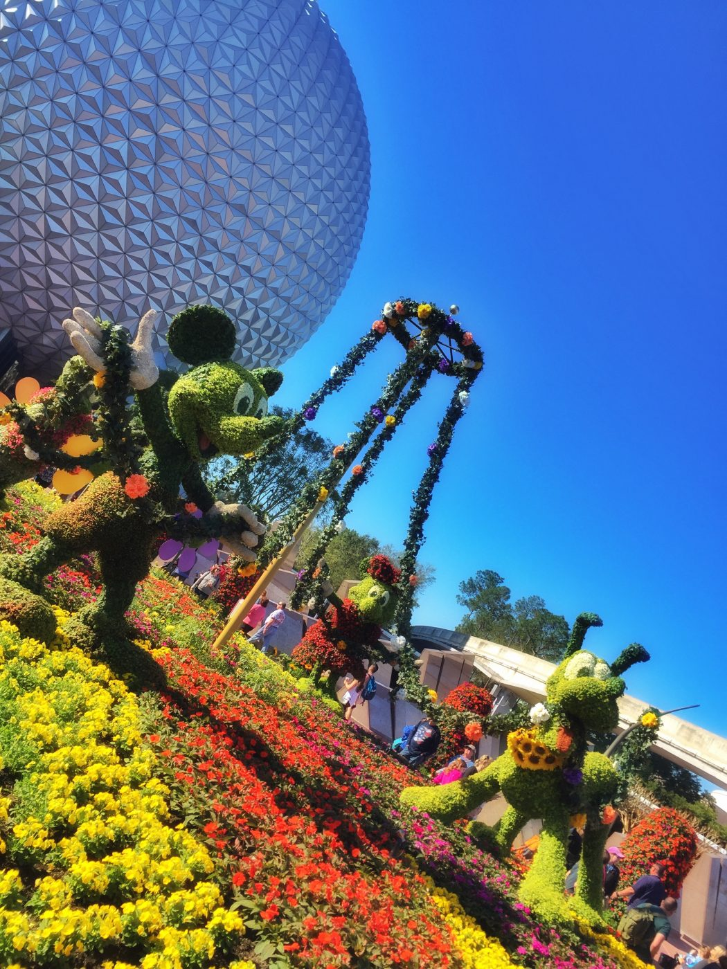 Disney's Epcot International Flower and Garden Festival Topiaries