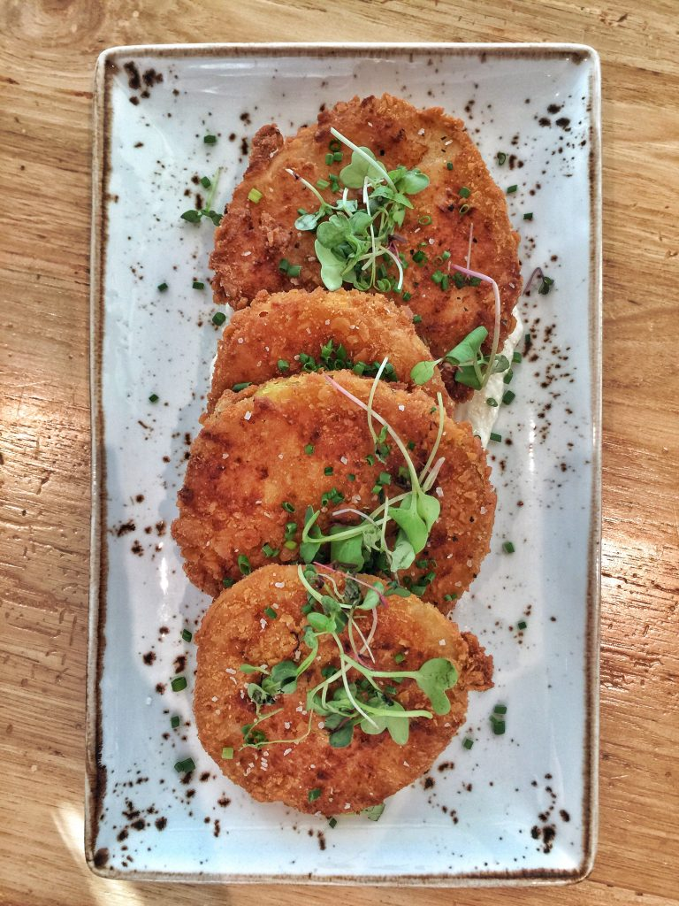Orlando's Canvas Restaurant in Lake Nona - Fried Green tomatoes