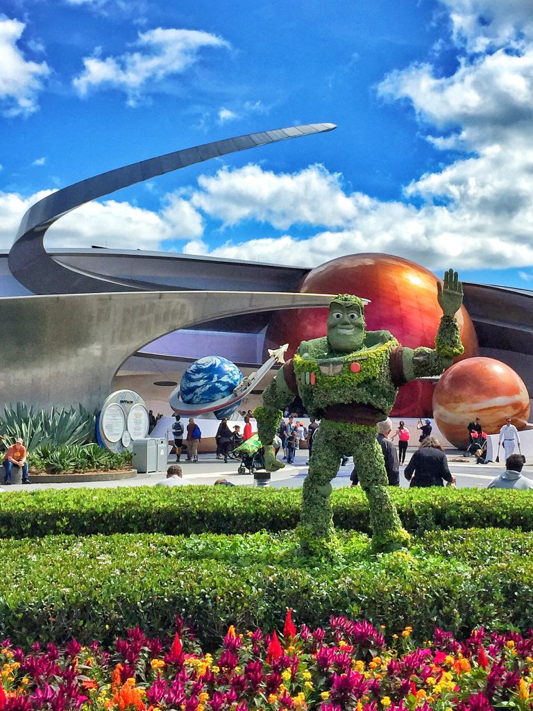 Disney's Epcot International Flower and Garden Festival Buzz Lightyear Topiary