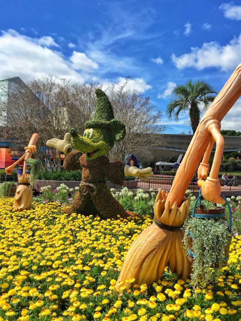 Disney's Epcot International Flower and Garden Festival Fantasia Topiary
