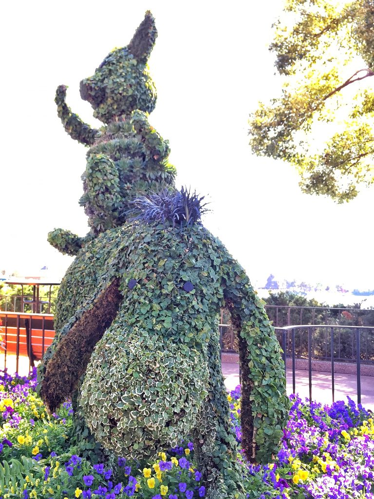Disney's Epcot International Flower and Garden Festival Eeyore Topiary