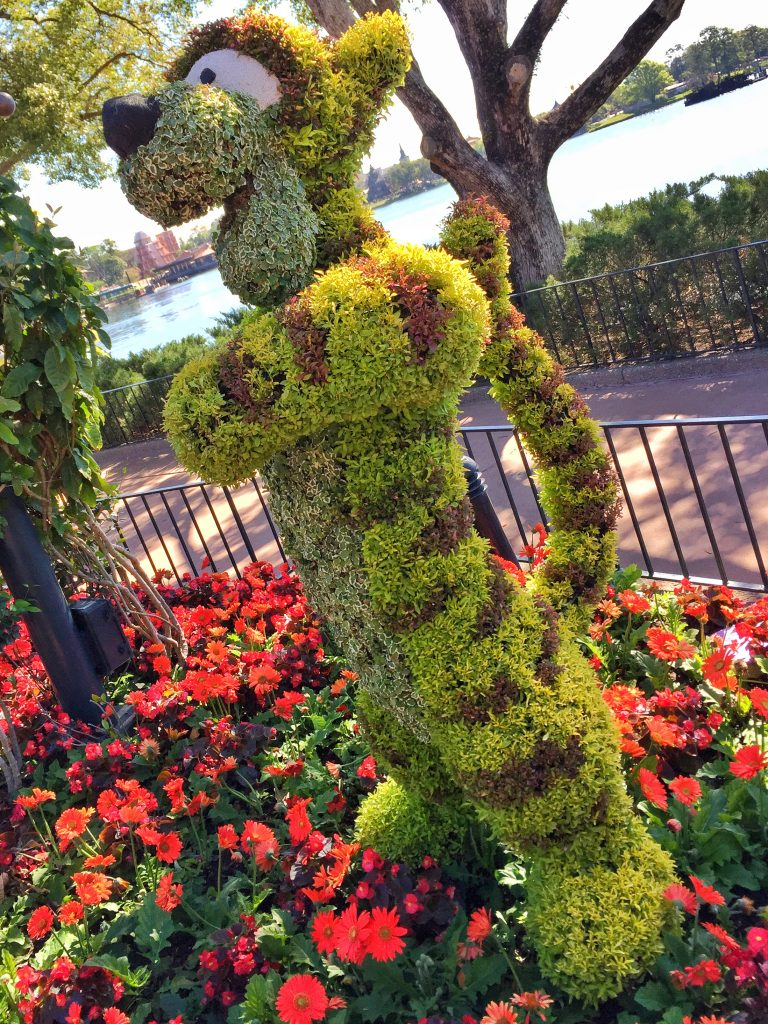 Disney's Epcot International Flower and Garden Festival Tigger Topiary