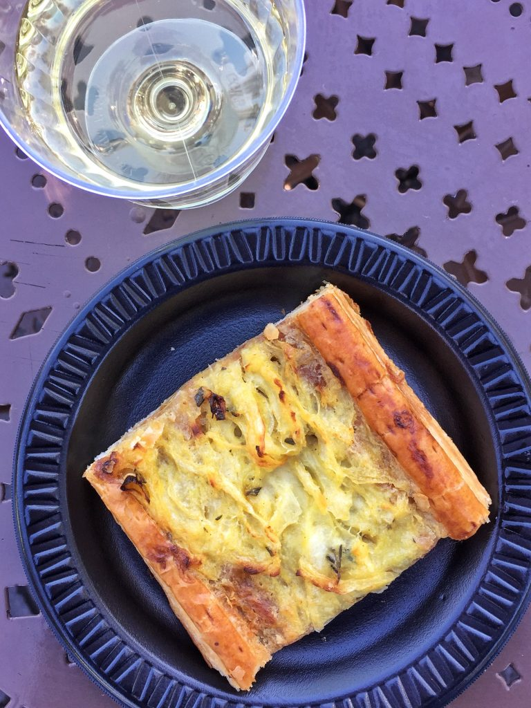 Disney's Epcot International Flower and Garden Festival Onion Tart