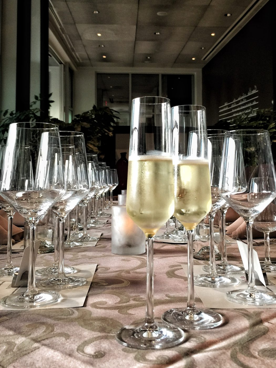 Our Five Course Italian Wine Pairing Dinner at La Luce in the Hilton Bonnet Creek