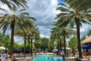 Adults Only Pool at Gaylord Palms in Orlando