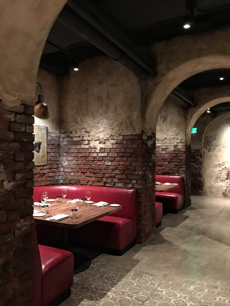 Enzo's Hideaway Speakeasy Tunnel Bar in Disney Springs