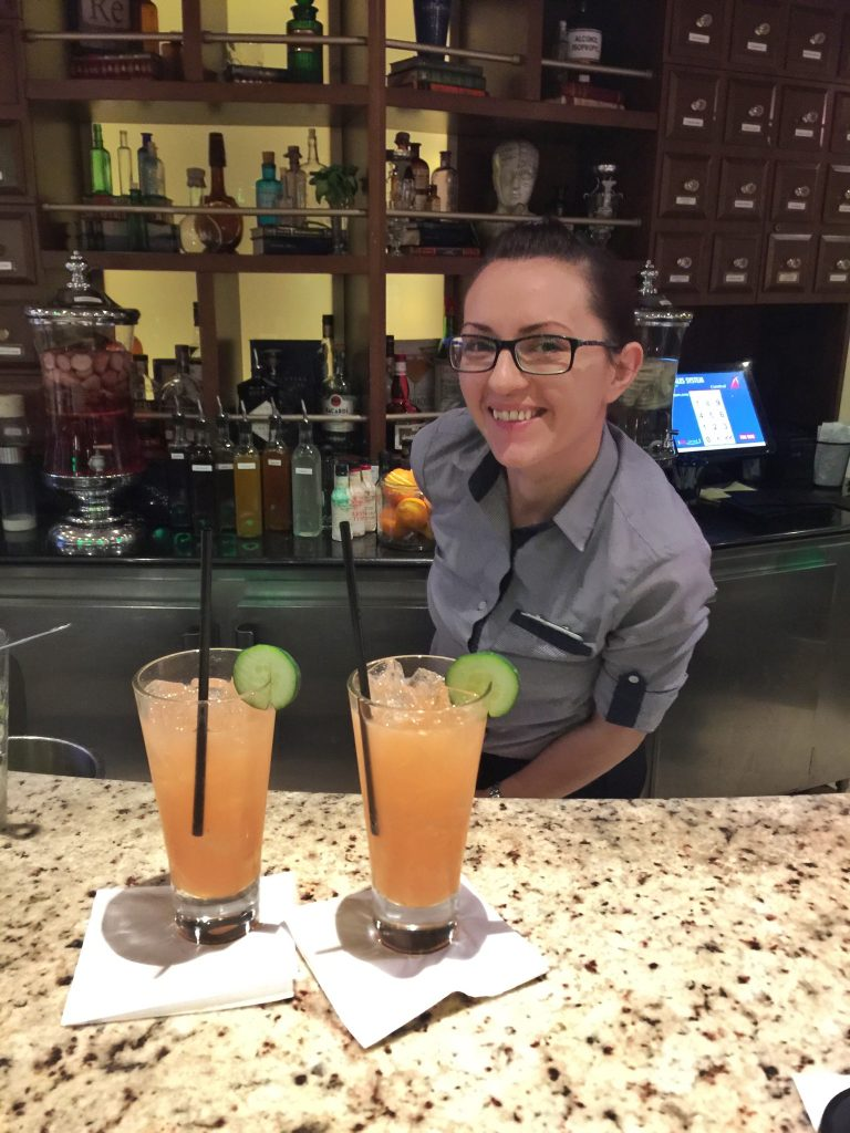 Alchemy Bar on the Carnival Liberty