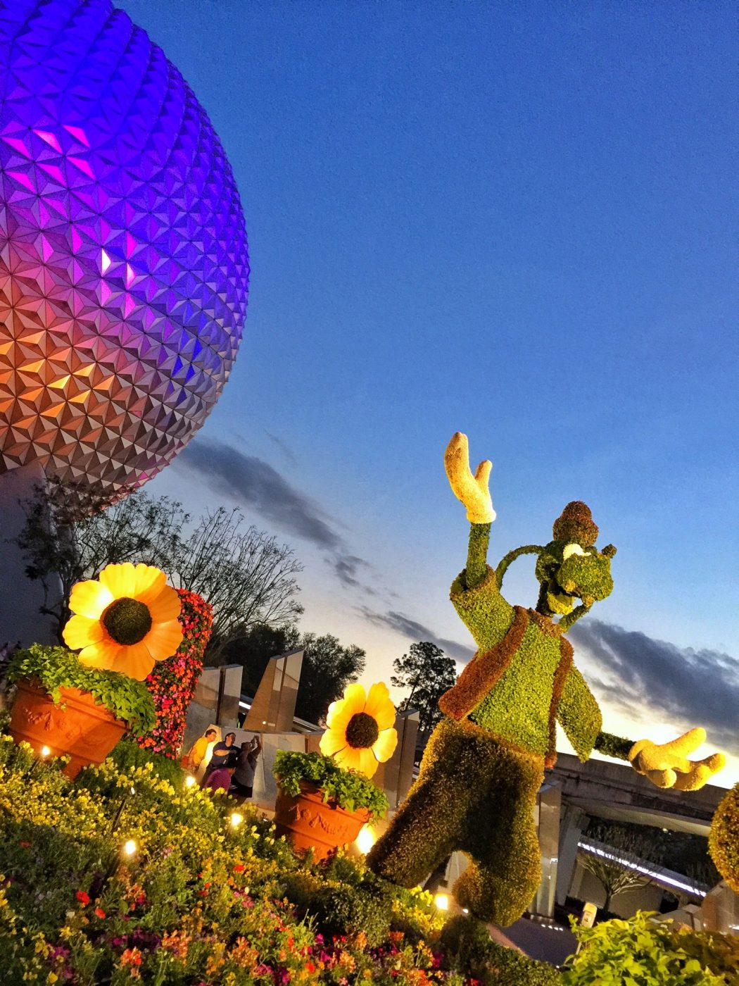 Epcot International Flower and Garden Festival Topiary