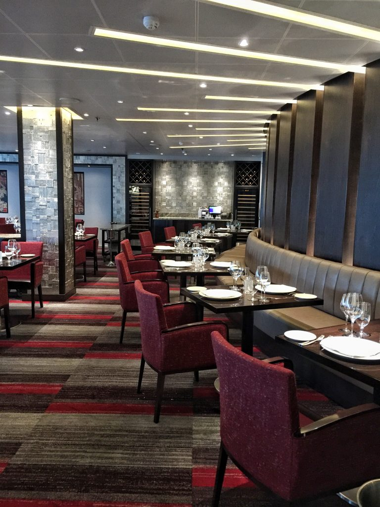 Carnival Horizon cruise ship Fahrenheit 555 steakhouse