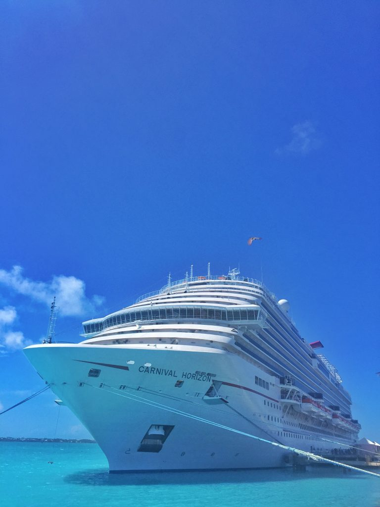Carnival Horizon in Bermuda