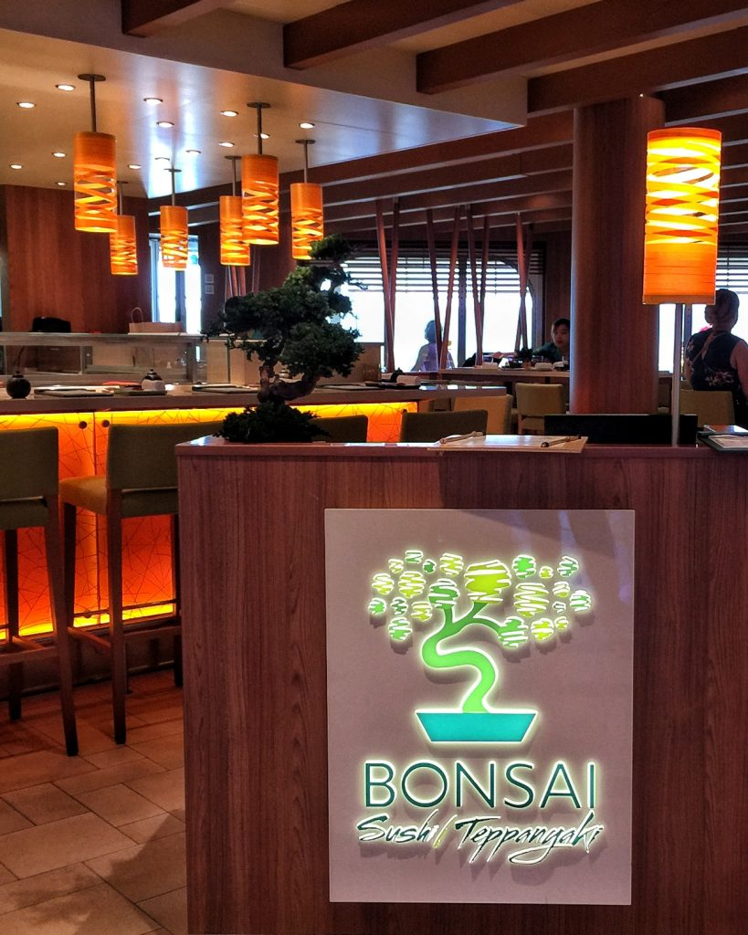 Carnival Horizon Bonsai Sushi
