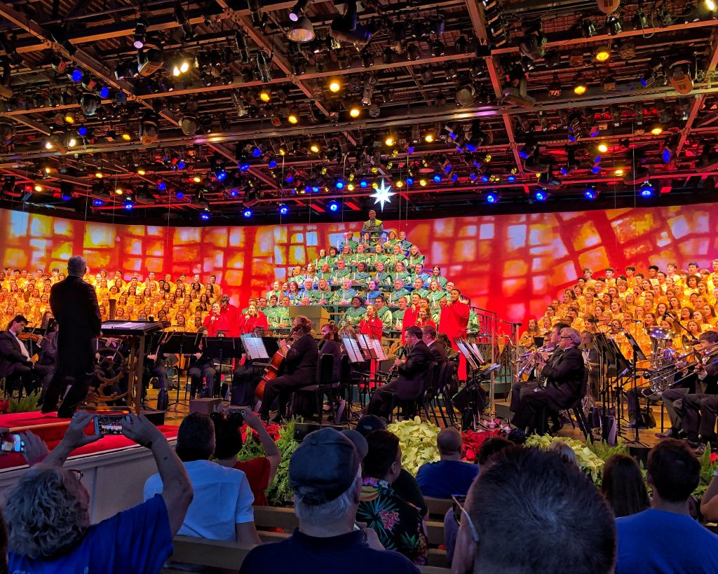 Epcot International Festival of the Holidays Candlelight Processional